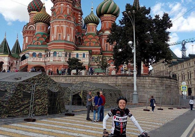 Il cattedrale di San Basilio nella Piazza Rossa, Mosca