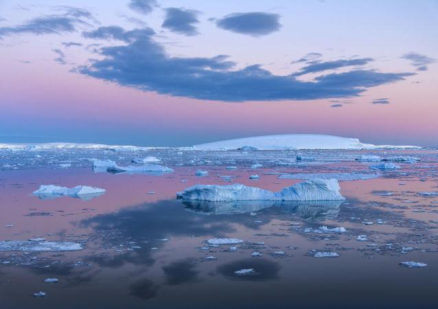 Paesaggio dell'Antartide