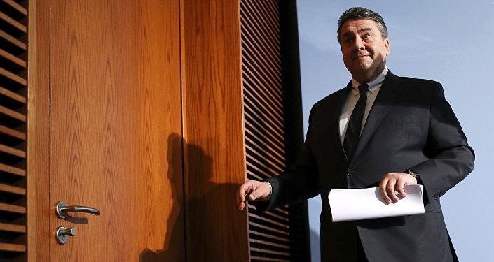 Ministro dell'economia tedesco Sigmar Gabriel