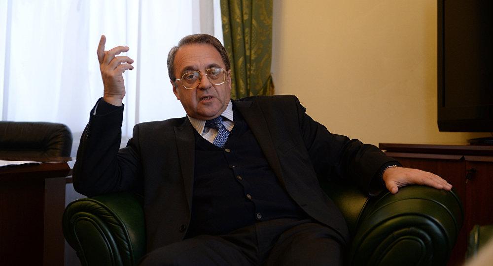 Il vice ministro degli Esteri russo Mikhail Bogdanov