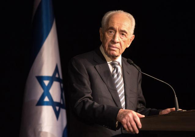 Ex-presidente izraeliano Shimon Peres, 2014