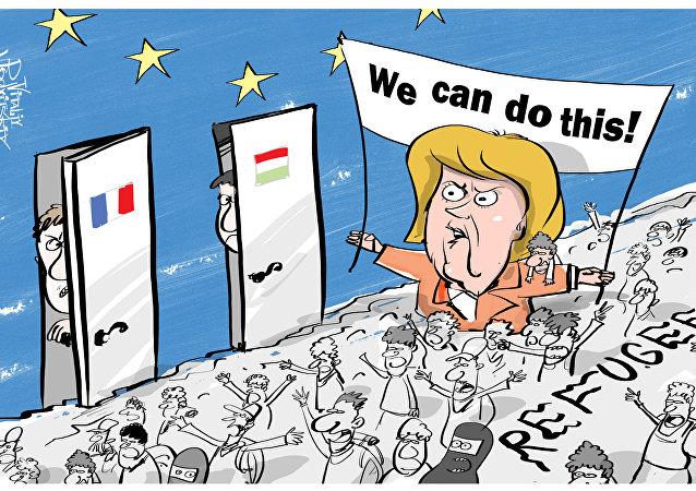 Migranti nell'Europa