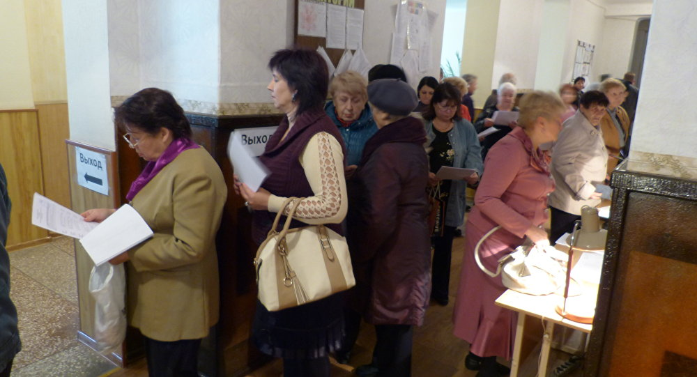 Le elezioni nel Donbass