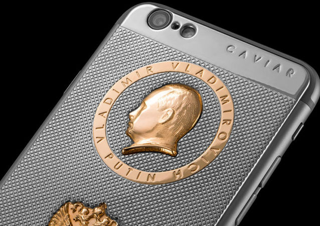 iPhone Supremo Putin Damascus