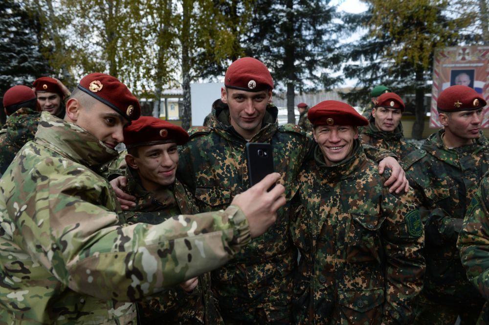 L'addestramento finale della Guardia Nazionale russa