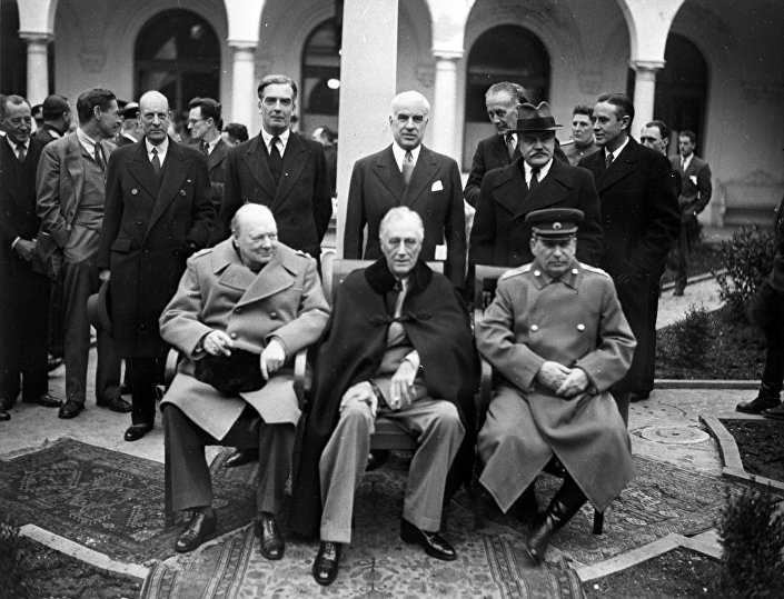 Yalta (Crimea) conferenza dei leader alleati.