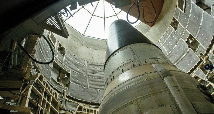 Un missile balistico intercontinentale USA Titan 2