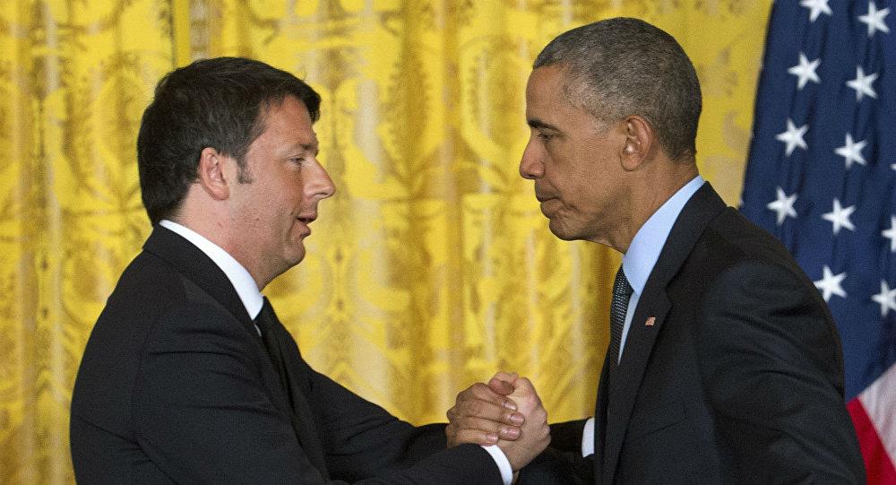 Matteo Renzi e Barack Obama