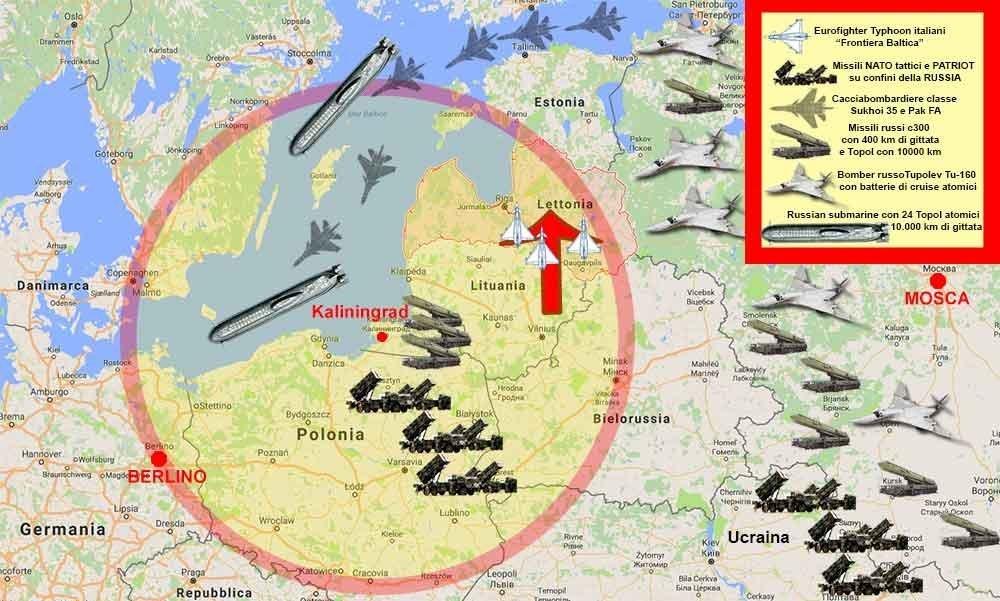 Tensione sulle rive del Baltico