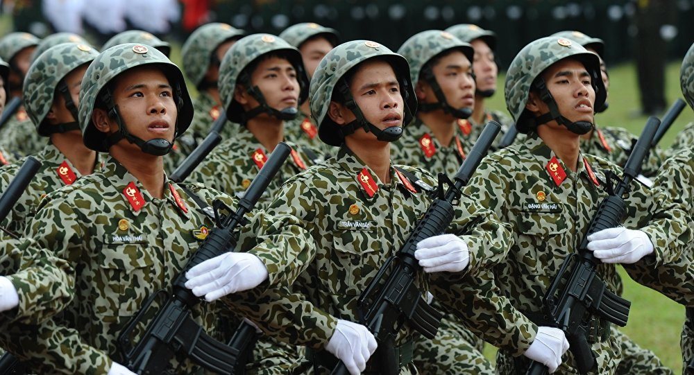 Soldati dell'Esercito Popolare del Vietnam