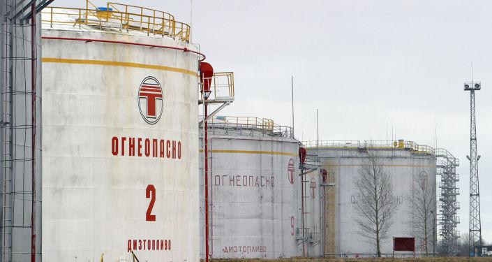 La stazione Disna in Bielorussia