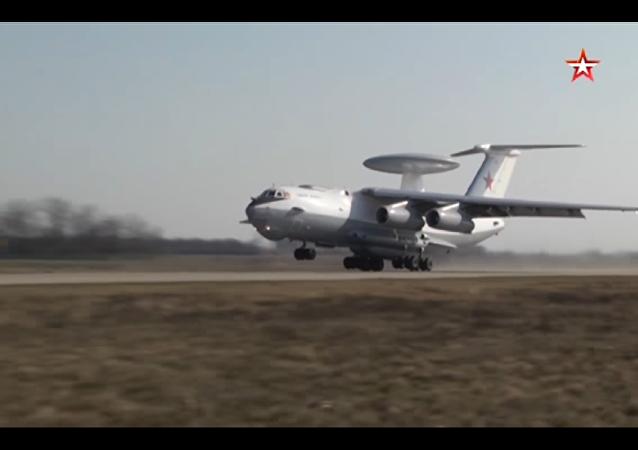 Aviazione CSI intercetta bombardieri a lungo raggio