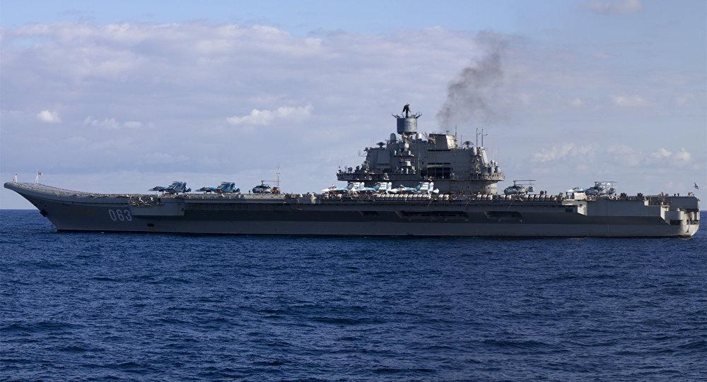 Portaerei russa Ammiraglio Kuznetsov