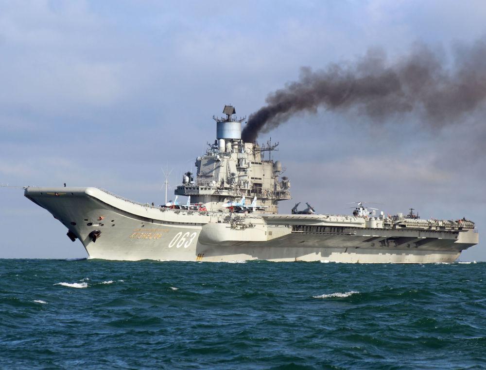 La flotta russa del Nord nel canale della Manica