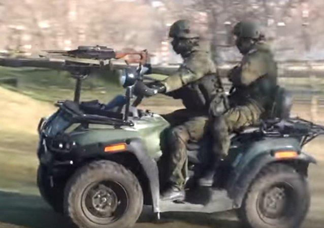 Esercitazioni antiterrorostiche in Russia
