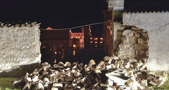 Conseguenze di un terremoto in Italia