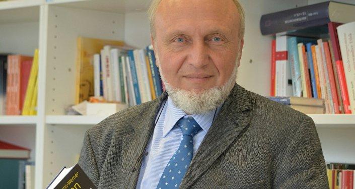Hans-Werner Sinn, l'autore del libro Giugno nero