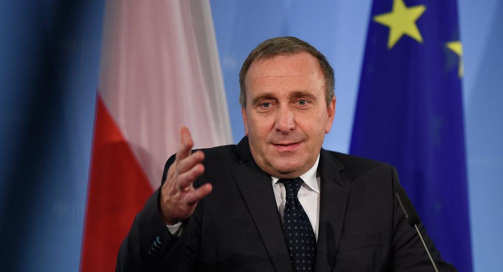 Ministro degli Esteri della Polonia Grzegorz Schetyna
