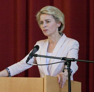 German defense minister Ursula von der Leyen
