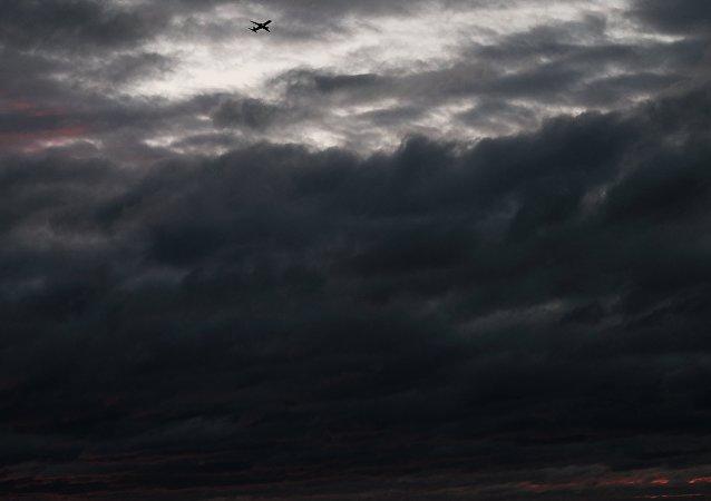 Un aereo United Airlines