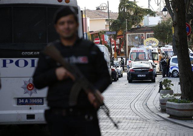 Poliziotto ad Istanbul
