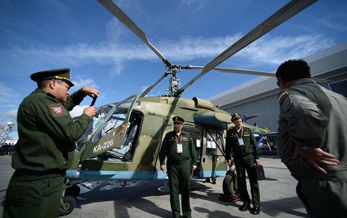 Elicottero Russo : Iraniani fanno conoscenza con l elicottero russo
