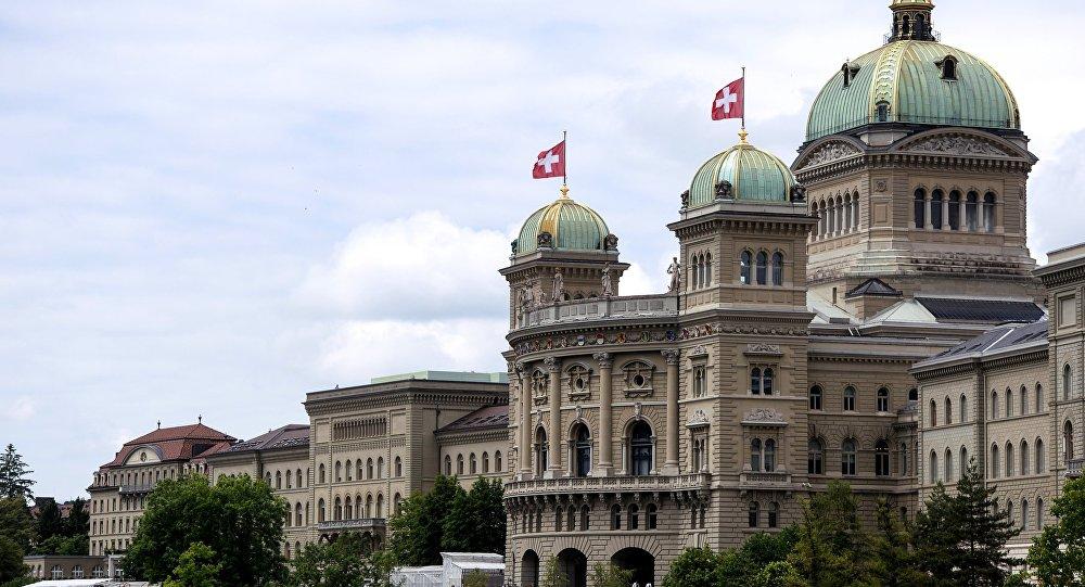 Sede del Parlamento elvetico a Berna