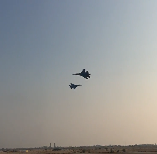 I Cavalieri Russi all'Iran Air Show