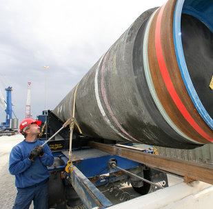 Costruzionee del gasdotto Nord Stream-2