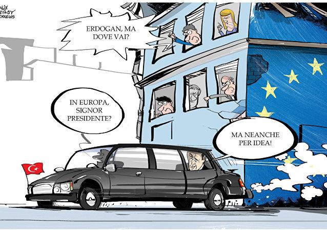 Parlamento Europeo approva la proposta di congelare le trattative della Turchia con l'UE