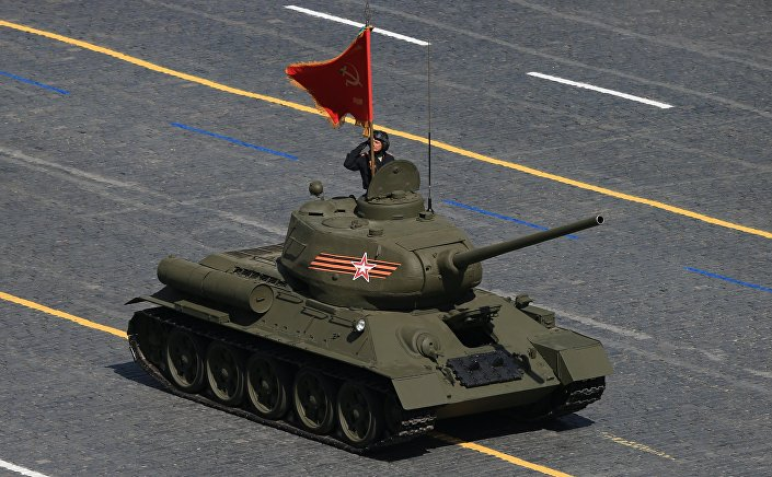 Il leggendario carro armaTo T-34-85.