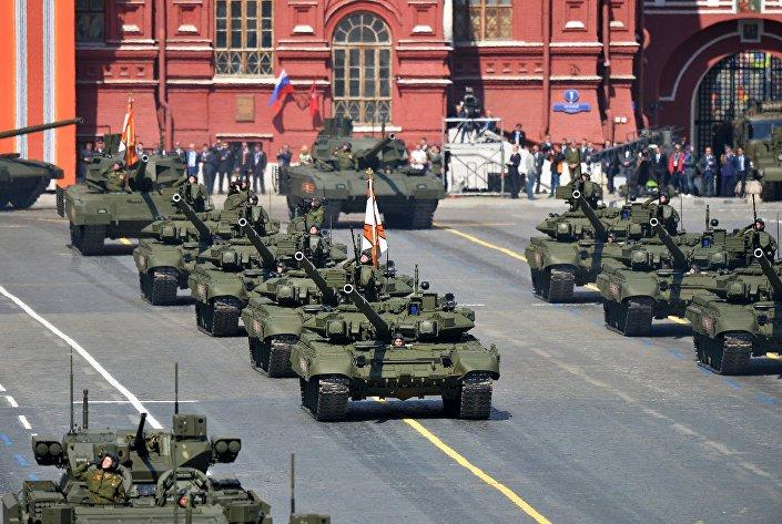 I tank T-90.