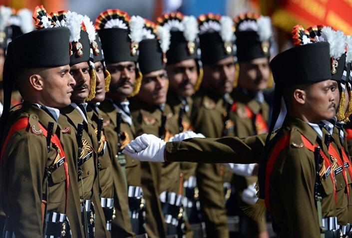 I granatieri indiani.