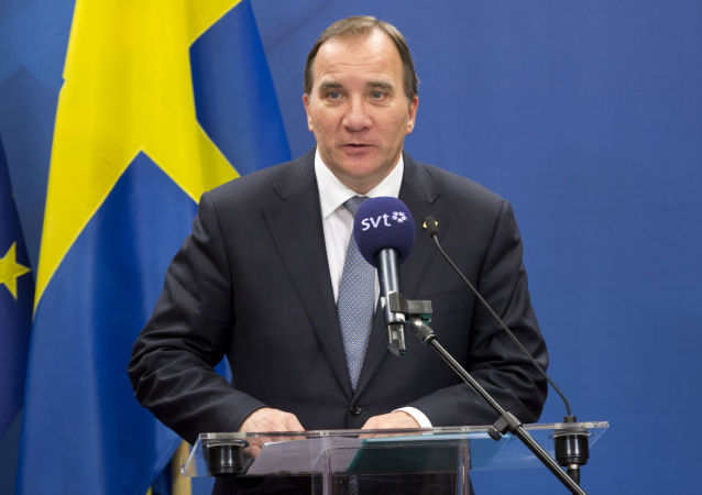 il premier svedese Kjell Stefan Löfven