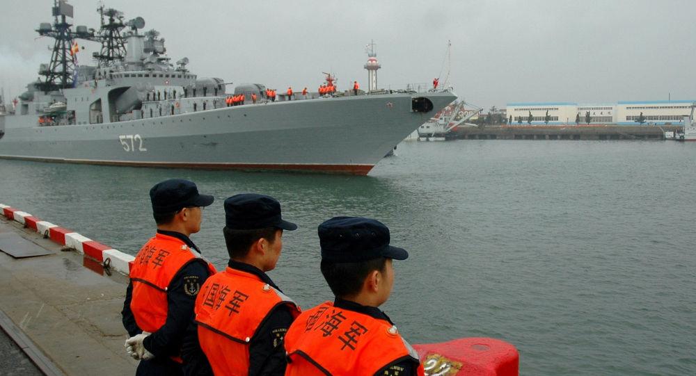 Esercitazioni russo-cinesi Interazione navale 2012