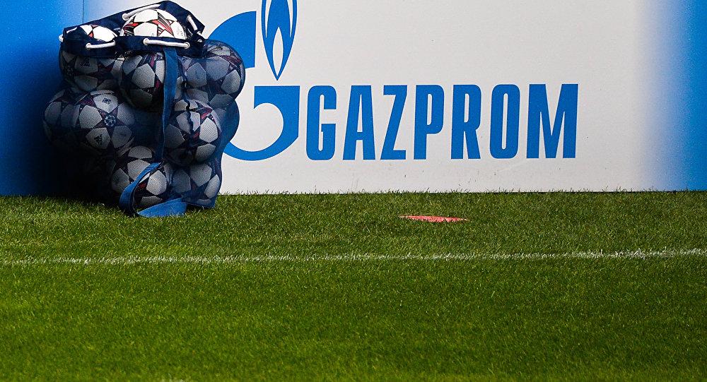 Gazprom sponsor della Champions League.