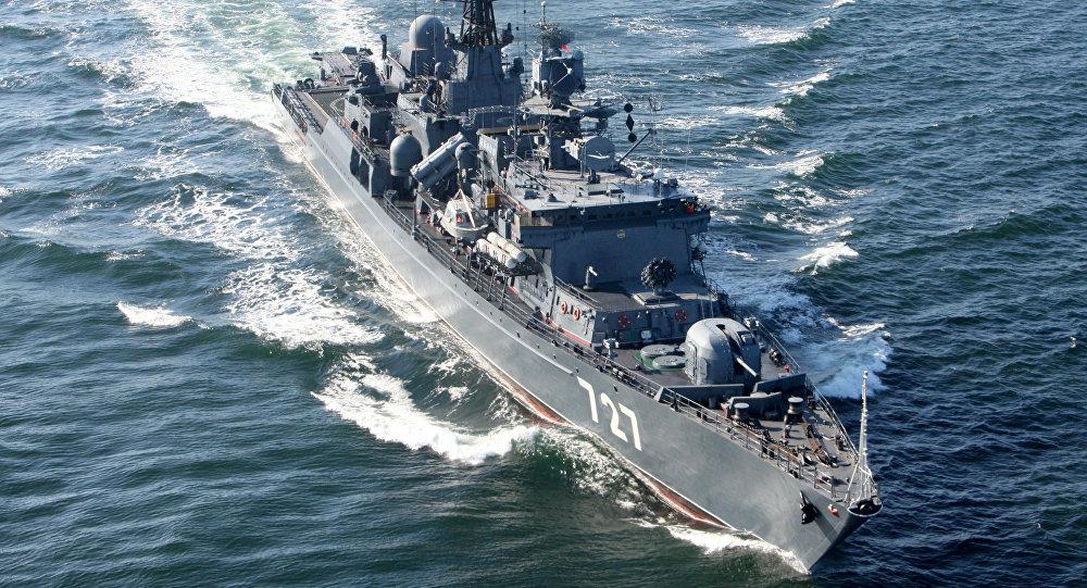 Nave di pattugliamento russa Yaroslav Mudry