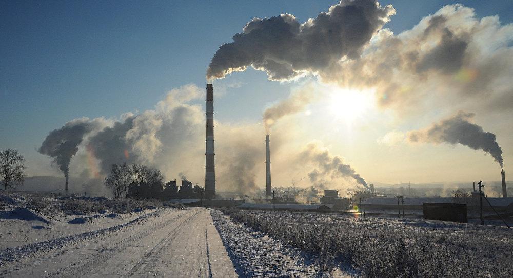 Veduta dello stabilimento metallurgico KDS a Chelyabinsk