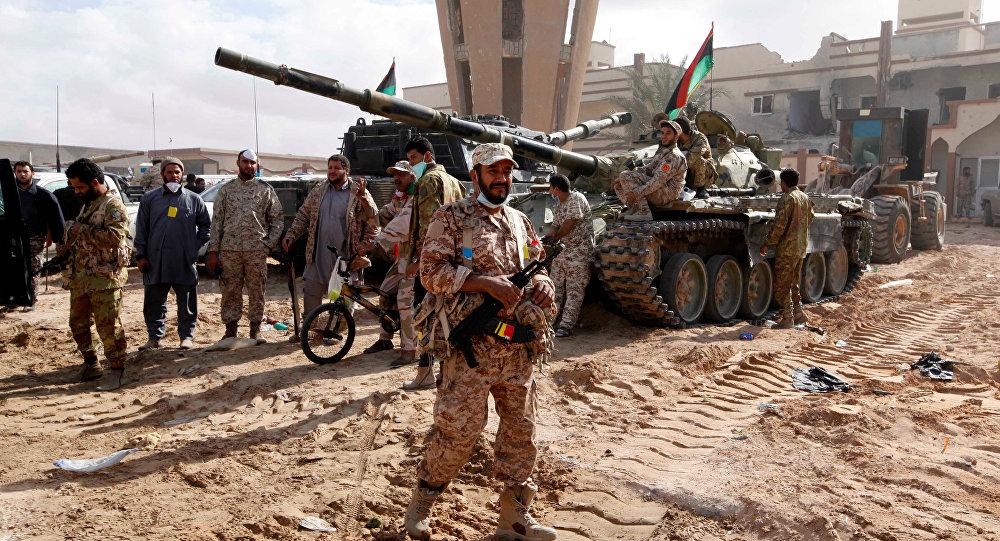 Esercito libico (foto d'archivio)