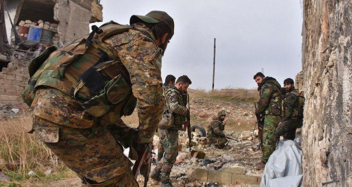 Forze governative siriane avanzano ad Aleppo