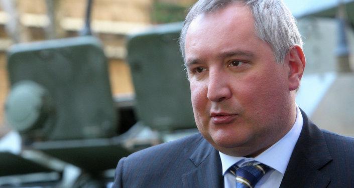 Dmitry Rogozin, direttore dell'agenzia spaziale russa Roscosmos (foto d'archivio)