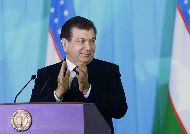 Il Presidente dell'Uzbekistan, Shavkat Mirziyoyev