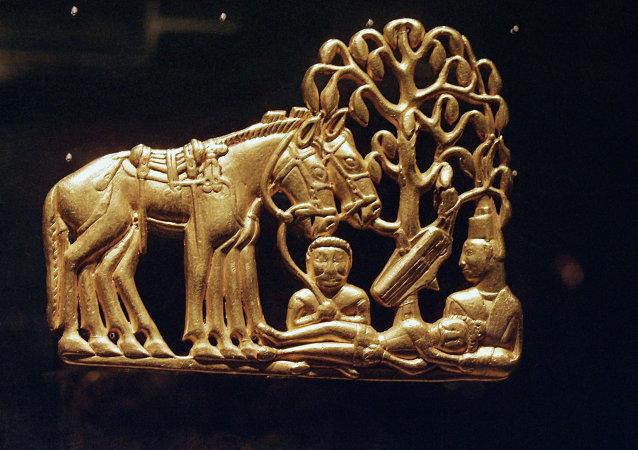 Un esempio di oro scita