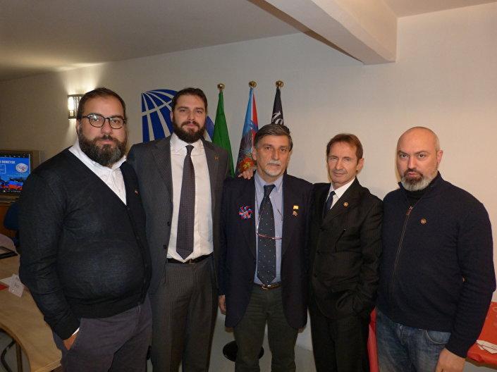 Luca Bertoni, Maurizio Marrone, Palmarino Zoccatelli, Eliseo Bertolasi, Ginmatteo Ferrari.