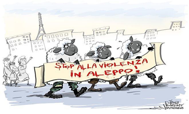 Stop alla violenza in Aleppo
