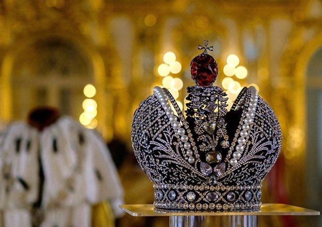 La corona imperiale degli zar