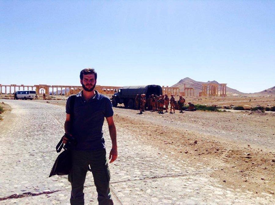 Sebastiano Caputo a Palmira