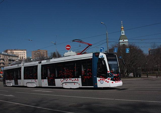 Tram a Mosca