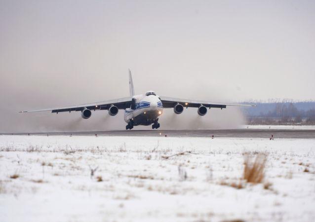 Antonov An-124 in dotazione alla Ruslan per i trasporti speciali