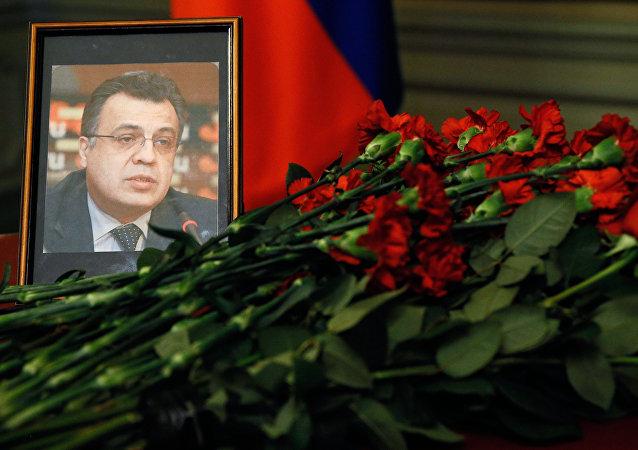 Andrey Karlov, l'ambasciatore della Russia in Turchia ucciso ad Ankara